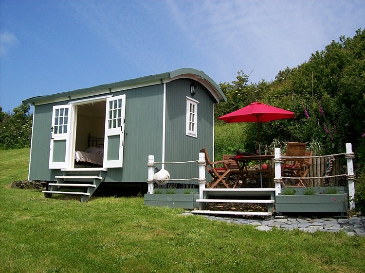 Gwithian St Ives Bay Shepherds Huts by the Sea, Ferienwohnung in Connor Downs