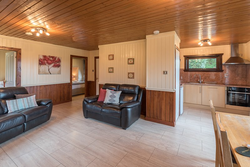 Birch Lodge 21 with Hot Tub, Newton Stewart, vacation rental in Newton Stewart