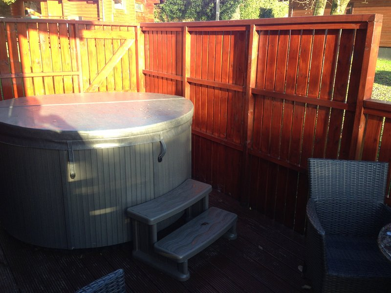 Conifer Lodge 8 with Hot Tub, Newton Stewart, vacation rental in Newton Stewart