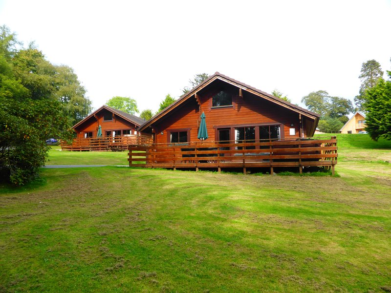 Lady Galloway Lodge 28 with Hot Tub,Newton Stewart, casa vacanza a Wigtown