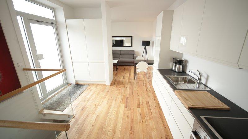 Óm Apartments, Apt 102, location de vacances à Mosfellsbaer