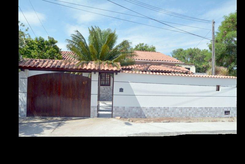 Wonderful home with pool, for olimpic 3 rooms Rio, aluguéis de temporada em Nova Iguaçu