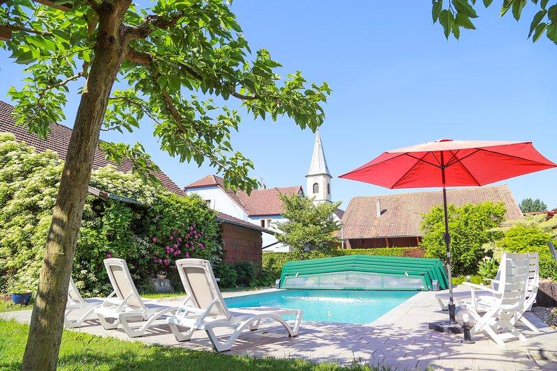 Chambres d'Hôtes Les Hirondelles, vacation rental in Mooslargue
