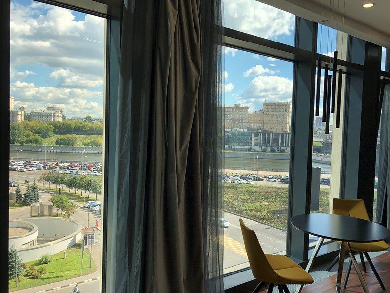 Apartment in MoscowCity 9\2 IQ 5 Floor ( 1 комнатная студия  МоскваСити 5этаж) – semesterbostad i Moskva