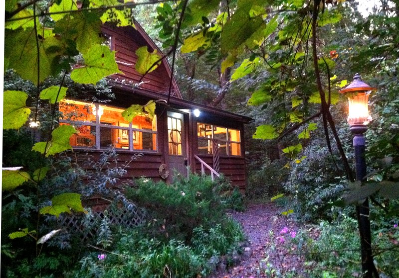 You will think you are in a Thomas Kinkade cabin!