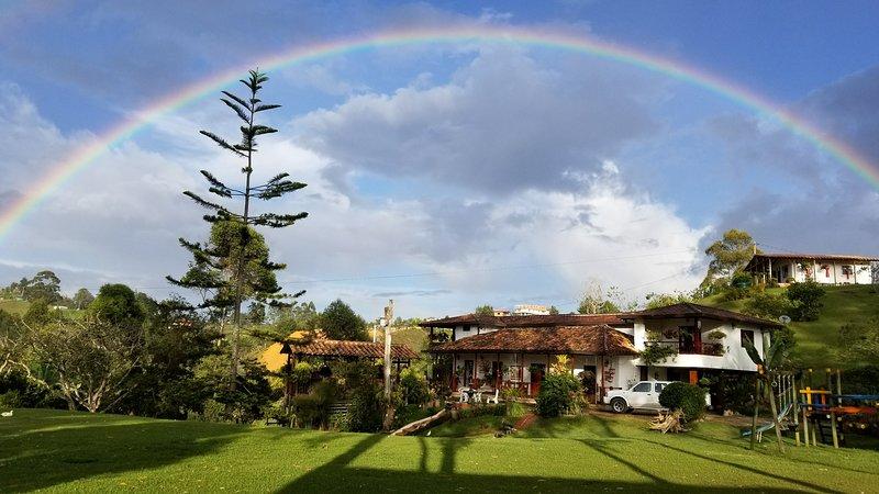 Las Orquídeas EcoHostel Villa San Miguel, location de vacances à Département d'Antioquia