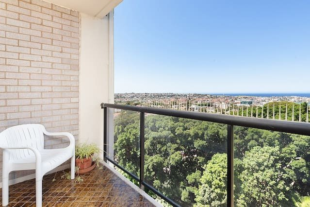 The Balcony with views