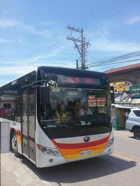 Shuttle service to Alona Beach and Airport running every 30 minutes village centre seven eleven shop