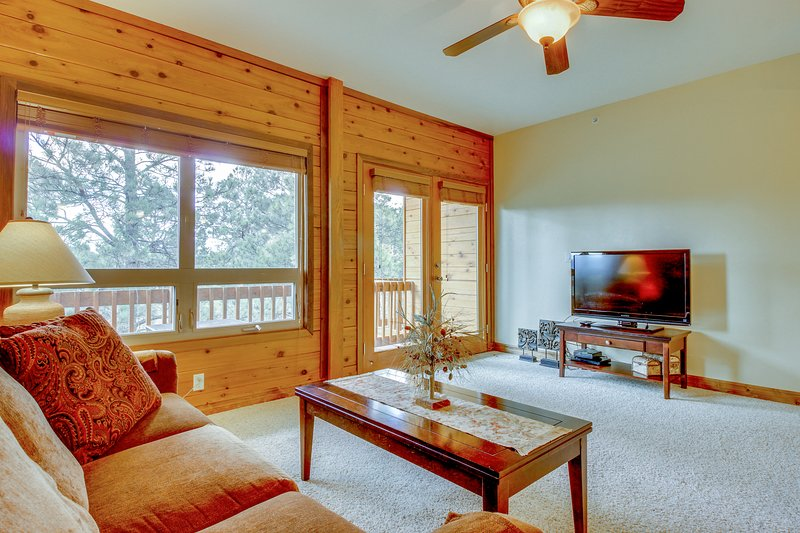 Comfortable, dog-friendly condo w/ free WiFi, near town!, holiday rental in Pagosa Springs