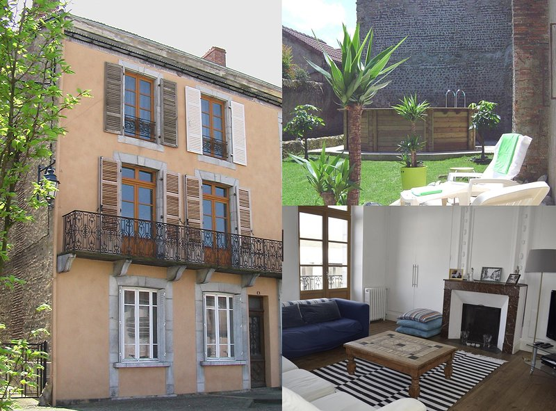 In the vrai sud holiday home, holiday rental in Riscle