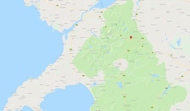 Comment trouver le refuge Glyn Shepherds à Capel Curig.