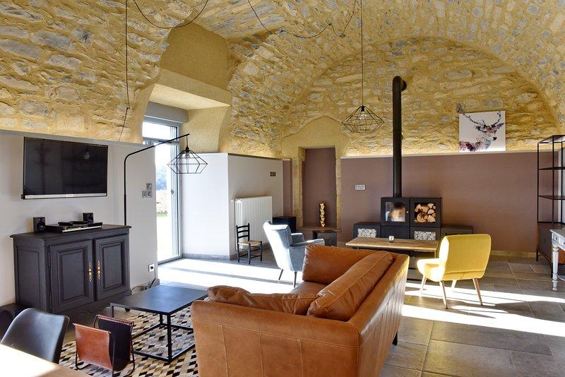 Castel d'Alzac - Gîte Le Jardin, holiday rental in Verrieres