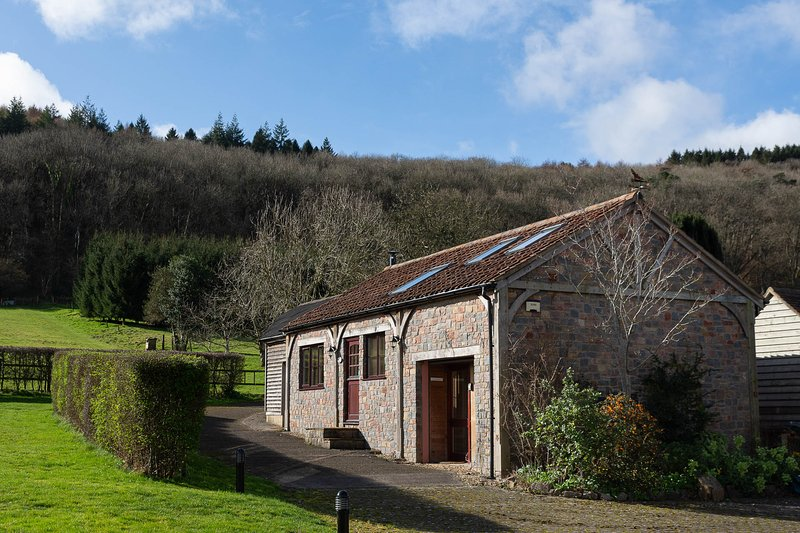 Annethlowen our converted barn nestled in the foothills of the Mendips. 50 metres from the Manor.