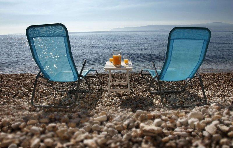 Waterfront Villa On The Aegean, holiday rental in Porto Germeno