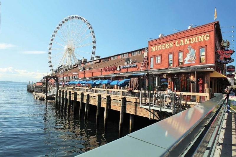 Harbour area Seattle