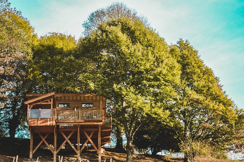 La cabane Carrément Perchée