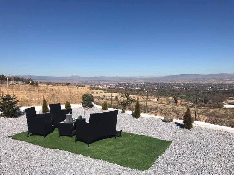 Vista desde el área de jardín adicional (área compartida con el propietario)