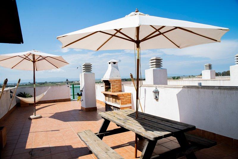 Bonito apartamento en el Parque Natural del Delta del Ebro, vacation rental in L'Eucaliptus