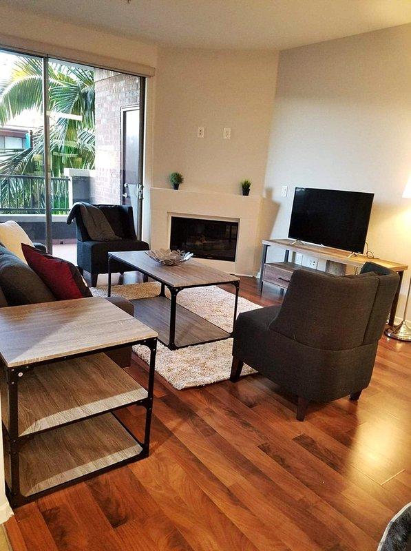 Living Room Apartment Rental
