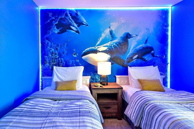 Stunning undersea themed room