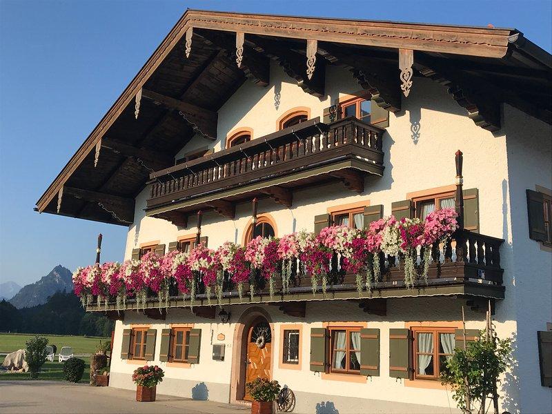 FERIENWOHNUNGEN ORTNER-HOF - exklusive 5 Sterne Wohnung 'PLATZHIRSCH', holiday rental in Unken