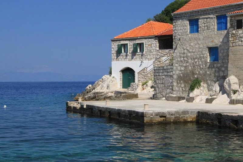 Three bedroom house Lučica, Lastovo (K-8348), location de vacances à Lastovo Island