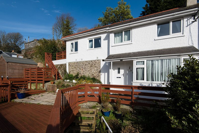 Woodview, just a short walk from the town, is modern and comfortable throughout.