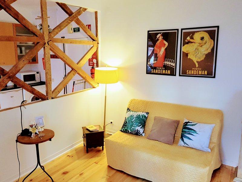 Satana Apartments 1E - Living room