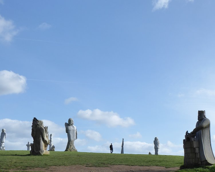 Walk amongst giants at the Valley of Saints!