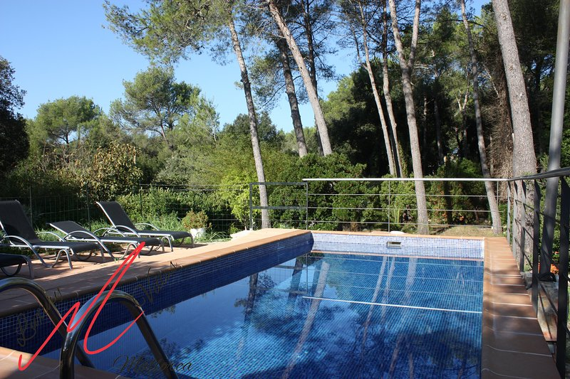 Privacy, surrounded by trees, private pool, wifi, close to BEACH Chalet in Puerto Pollensa