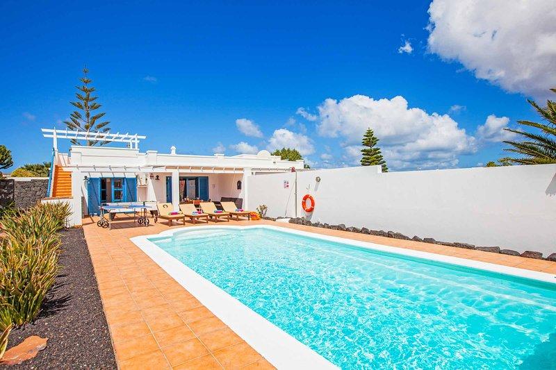 Lomo Blanco, holiday rental in Las Brenas