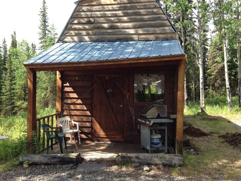 Forget-Me-Not Cabin in the woods, vacation rental in Clam Gulch