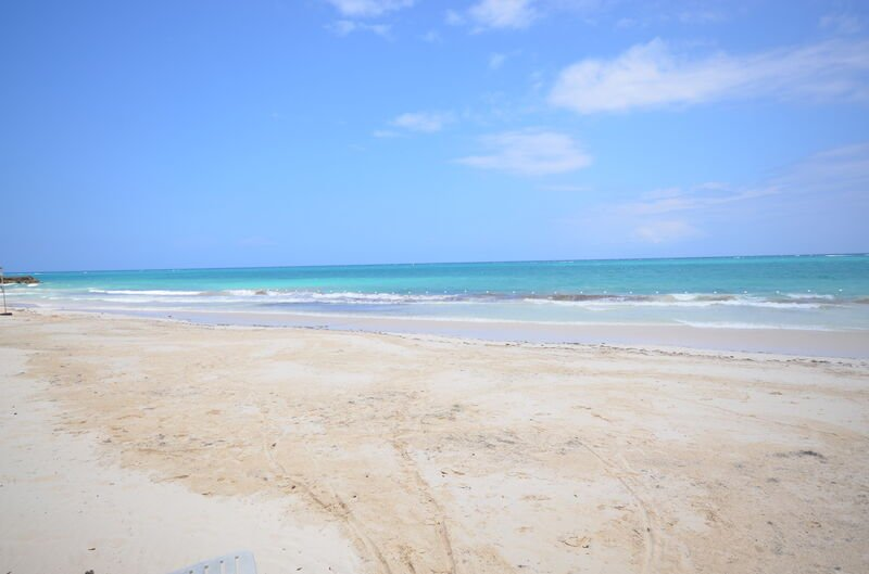 Residents enjoy this beach at Silver Sands, short 5 minute stroll to one of the best beaches in Jamaica!