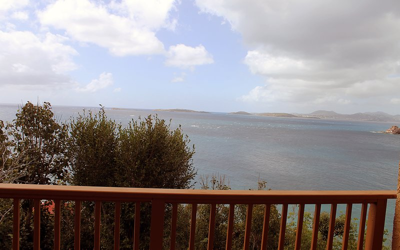 View of the the St. James islands off St. Thomas