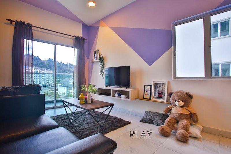 Play Residence at Quintet (8pax), holiday rental in Brinchang