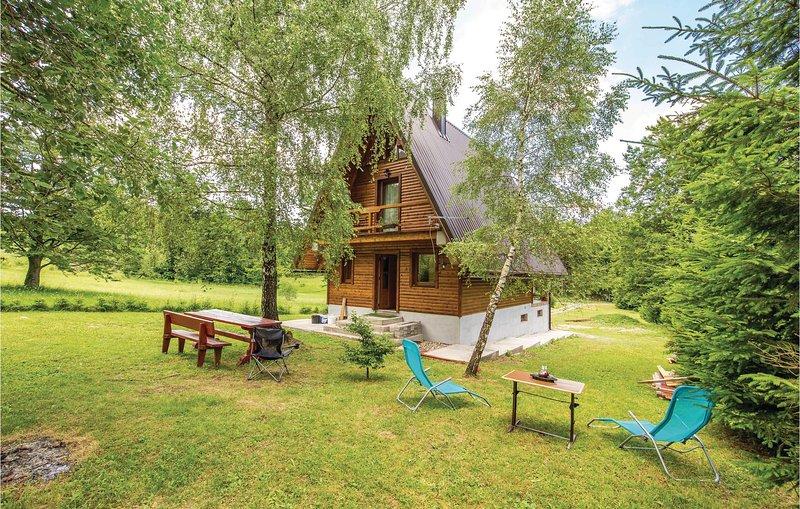Beautiful home in Delnice with 1 Bedrooms (CKB306), aluguéis de temporada em Begovo Razdolje