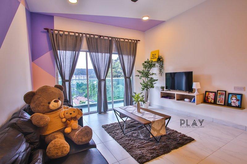 Play Residence at Quintet , Tanah Rata for 12pax, holiday rental in Kampar