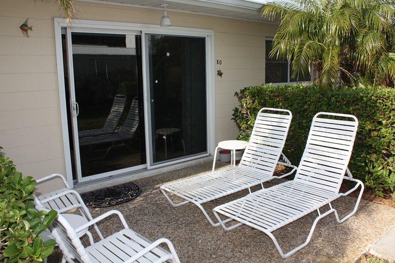 Sedia, mobili, patio, porta, decorazioni per la casa