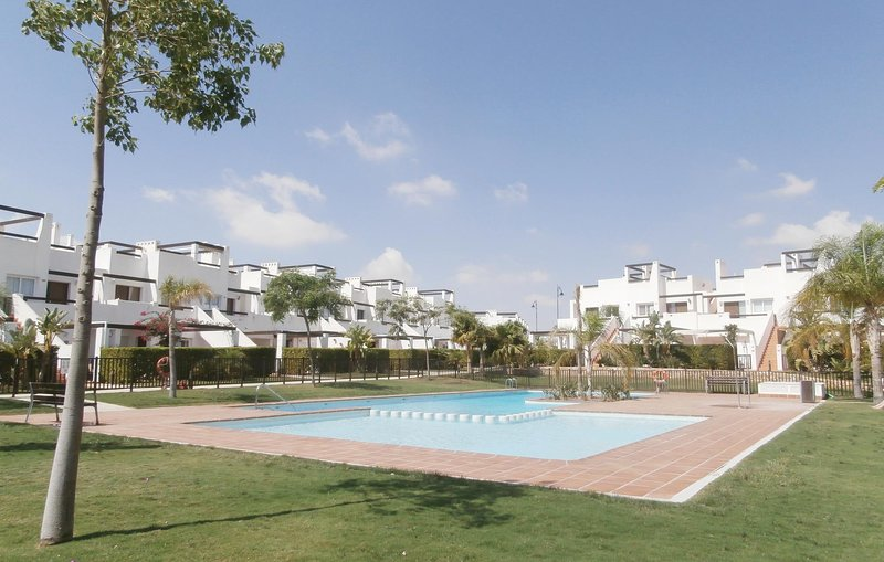 Nice home in Alhama de Murcia with WiFi and 2 Bedrooms (ECC265), holiday rental in Camposol