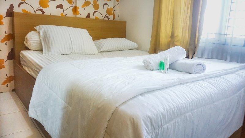 Cozy 2 Bedroom Signature Park Apartment, alquiler de vacaciones en Bekasi