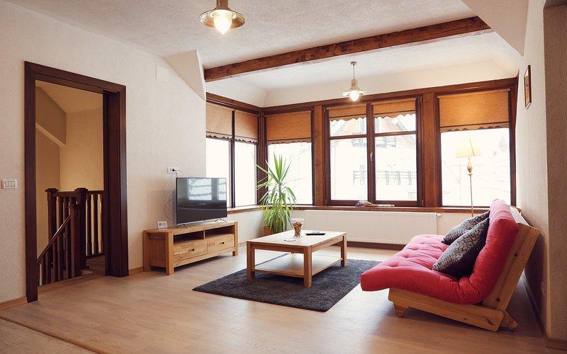 Charming Apartment, holiday rental in Rasnov