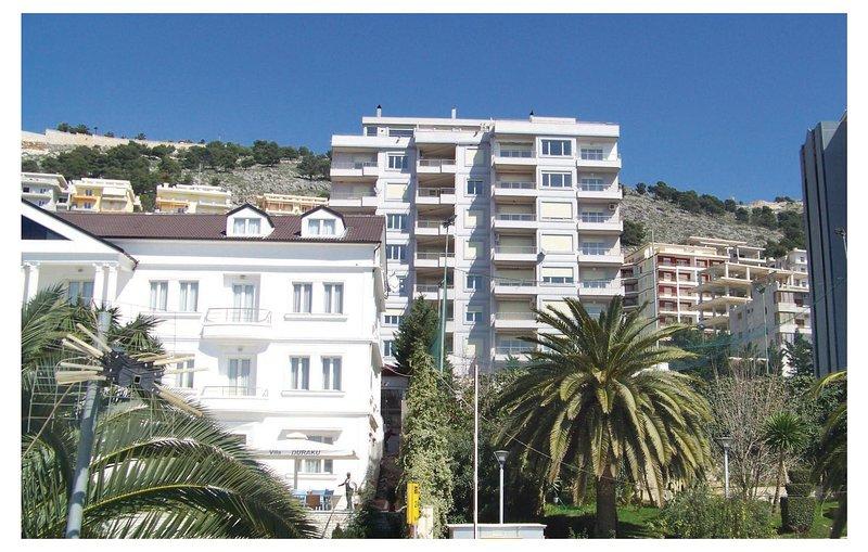 Nice home in Sarande w/ WiFi and 1 Bedrooms (ALS022), holiday rental in Gjirokaster