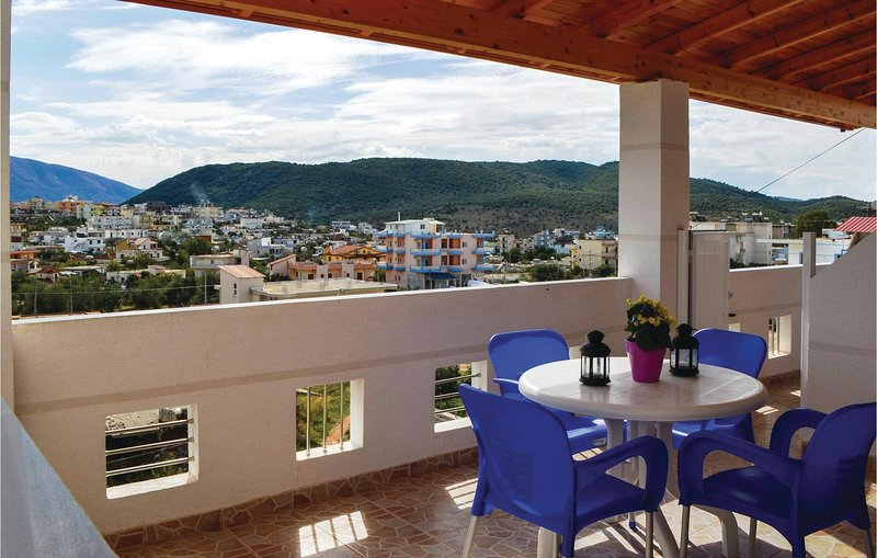 Awesome home in Ksamil w/ WiFi and 1 Bedrooms (ALS123), holiday rental in Ksamil