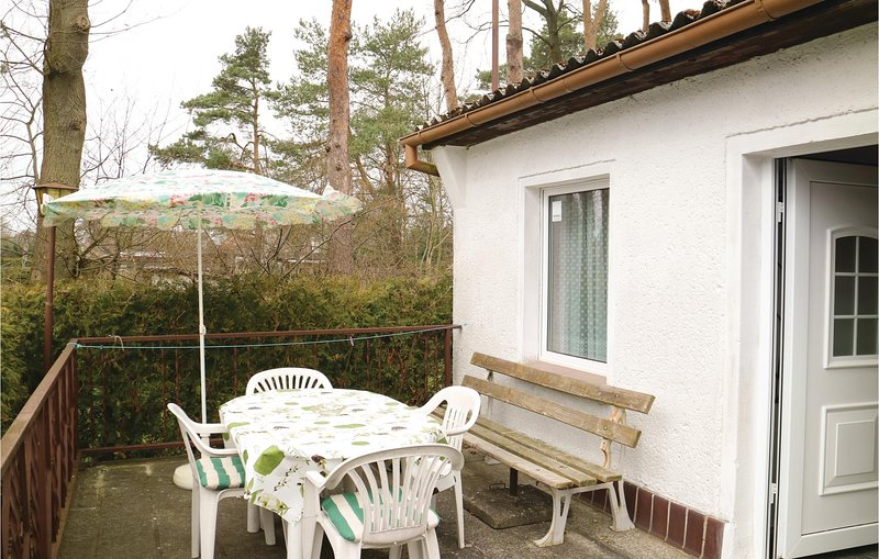 Amazing home in Bellin with 1 Bedrooms (DMK345), holiday rental in Viereck