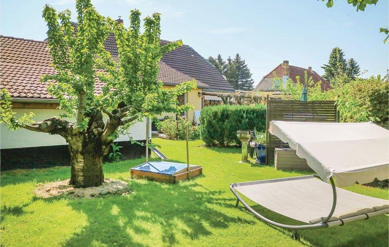 Beautiful home in Steffenshagen with 1 Bedrooms (DMK607), holiday rental in Stulow