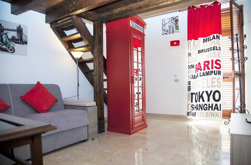 Le Casuzze Don Carlo, Appartamento 'CUCU' ', alquiler vacacional en Landro