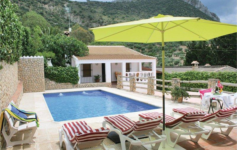 Amazing home in El Gastor with WiFi and 2 Bedrooms (EAC298), holiday rental in El Gastor