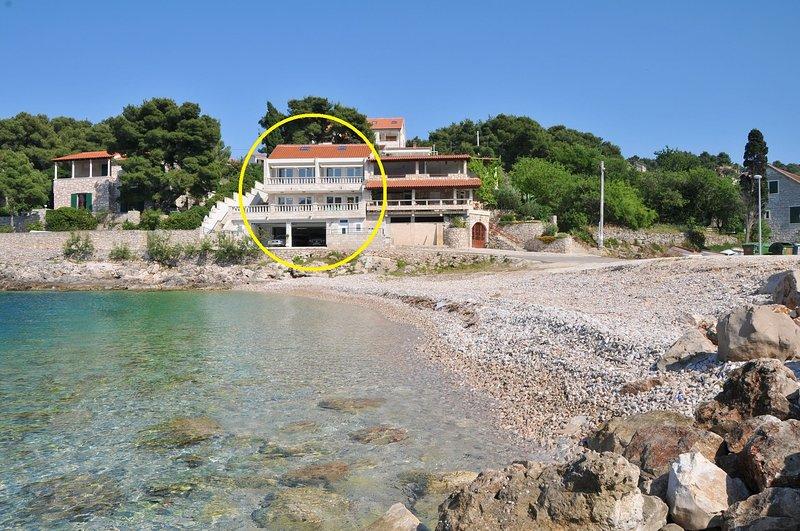 Sonja - 10m from beach : A3-Bez(2+2) - Stomorska, location de vacances à Stomorska