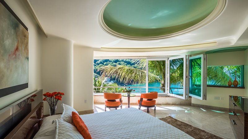 Luxury Suite with Garden, Ocean, and Beach view, holiday rental in Cabo Corrientes
