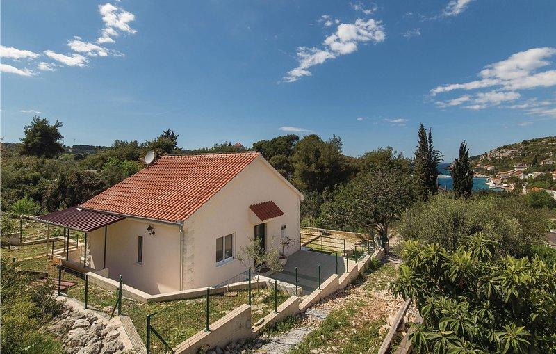 Awesome home in Drvenik Veliki with WiFi and 1 Bedrooms (CDF348) – semesterbostad i Veliki Drvenik